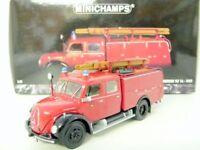MINICHAMPS 1/43 141070 MAGRIUS-DEUTZ MERKUR TLF 16 1959