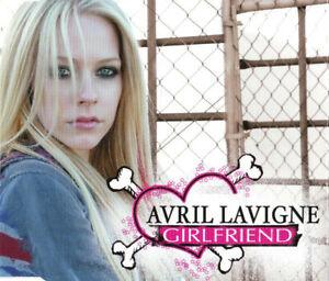 Avril Lavigne Maxi CD Girlfriend - Europe (M/EX+)