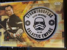 2017 Star Wars Rogue One Series 2 15/50 Chirrut Imwe w/ Stormtrooper Patch 15/50