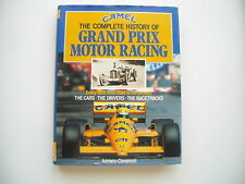 Camel - The complete history of grand prix motor racing 1894 - 1989