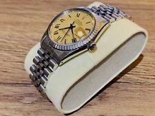 Rolex Datejust REF 16030 , Stunning Champagne Dial , Black Hands , Roman Numeral