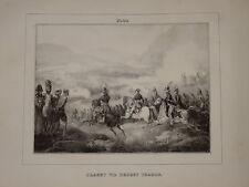 Litho Suèdoise NAPOLEON MONTHABOR KLEBER EGYPTE EGYPT ORIENTALISTE EMPIRE 1825