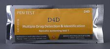 Mistral D4D Multiple Drug Detection and Identification Narcotic Residue Pen