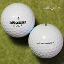 50 Bridgestone TreoSoft Golf Balls AAAA Lakeballs in Top Quality Treo Soft
