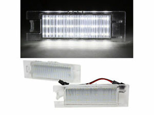 LED License Plate Light Lamps For Opel Corsa C D Astra H J Zafira B