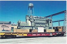 GM-EMD  - NASHVILLE  BRIDGE  CO.  2150 HP engine for their Towboat in 1972