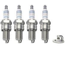 4 x BOSCH SUPER PLUS SPARK PLUGS FITS PORSCHE 944 S2 924 VW GOLF SCIROCCO WR5DC+
