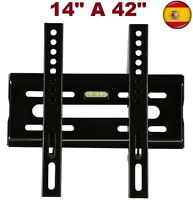 "Soporte de pared para tv lcd led plasma Monitores 14"" A 42"" Universal"