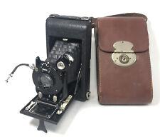 Antique Houghton Butcher Vario Lukos Anastigmat Popular Ensign Folding Camera
