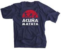 Acuña Matata Baseball Shirt - Ronald Acuña Jr - Acuna Matata t-shirt - FREE SHIP