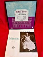 BELLINI La sonnambula Callas Votto 3 LP BoxSet USA 1957 MINT- Booklet