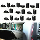 20Pcs Cable Self-Adhesive Clips Wire Holder Drop Tie Cord Pack In-Car Organizer