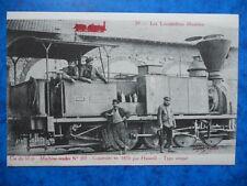 MACHINE-Tender n° 301. Construite en 1855 par Haswell-Type Unique. Cie du Midi