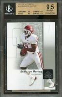2011 sp authentic #34 DEMARCO MURRAY cowboys rookie BGS 9.5 (10 9.5 9.5 9.5)