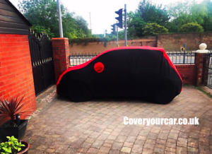 2 Tone Waterproof Custom Fit Indoor / Outdoor Car Cover for 500 Abarth (2005 on)