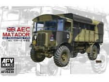 AFV Club WWII British AEC Matador Mid Prod Type Transport Truck model kit 1/35