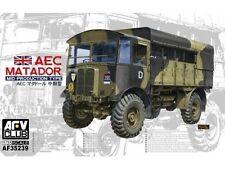 AFV Club WWII British AEC Matador Mid Prod Type Transport Truck model kit 1/35