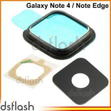 Marco Cristal Camara Samsung Galaxy Note 4 / Note Edge Negro Lente N910 N915