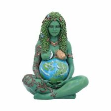 Ethereal Mother Earth Gaia Art Statue Painted Figurine 17cm E5242
