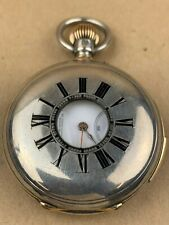 Ch. Oudin Legrand 1/4 Repeater Sterling Silver High Jewels Pocket Watch - RARE