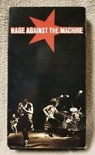 RAGE AGAINST THE MACHINE Live in Concert VHS Video Tape 1997 Epic Music Video