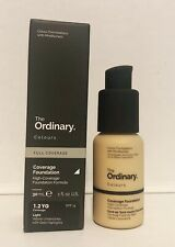 The Ordinary Coverage Foundation 1.2 YG (Light) 30ml Full Size NEW IN BOX