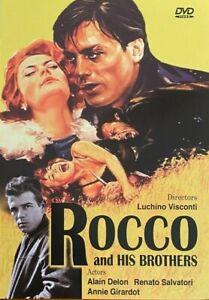Rocco and His Brothers (1960) - Alain Delon & Renato Salvatori (Region All)
