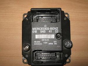 0185454132 5WK9124 PMS Steuergerät Zündsteuergerät Mercedes W202 C-Klasse