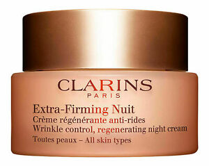 CLARINS Extra-Firming Nuit Wrinkle-Control Night Cream1.6 oz  Sealed New