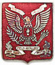 US Army Crest DI/DUI Pin: 43rd Field Artillery Battalion