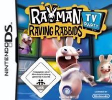 NINTENDO DS 3DS RAYMAN RAVING RABBIDS TV PARTY *DEUTSCH Top Zustand