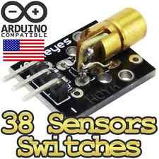 37 Sensor and Switch Module Pack for Arduino, Raspberry Pi, TTL Development