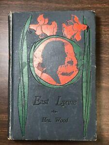 East Lynne or The Earls Daughter -- 1885 -- Mrs. Henry (Ellen) Wood