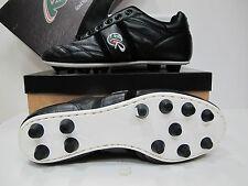 RYAL scarpe calcio ARTIGIANALE tacchetti fissi MULTI CLASSICO col.NERO n.39,5