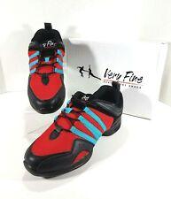 Very Fine Dancesport Split Sole Sneakers Womens Size 9 Mens Size 7.5 Red VFSN011