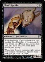 BLOOD SPEAKER Champions of Kamigawa MTG Black Creature — Ogre Shaman Unc