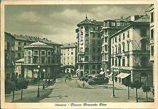 CARTOLINA d'Epoca - SAVONA Città 1950 : PIAZZA ARMANDO DIAZ