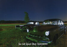 NIGHT PHOTOGRAPHY BOOK DECAY VTG CHEVY CARS DINER GAS STATION URBAN DECAY PHOTO