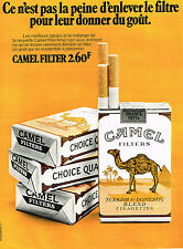 PUBLICITE ADVERTISING 014   1971   CAMEL   cigarettes