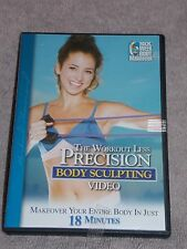 The Workout Precision BODY SCULPTING Video Body Makeover 18 Minutes Dvd Used