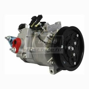 DENSO 471-5020 Compressor w/ Clutch For Select 07-16 Land Rover Volvo Models