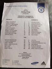 CHELSEA YOUTH v MARIBOR 2014-15  UEFA YOUTH LEAGUE