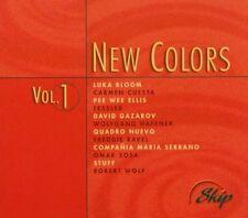 New COLORS 1 (2001) Luka Bloom, Carmen Cuesta, pee wee Ellis, Fessler, wolfgang