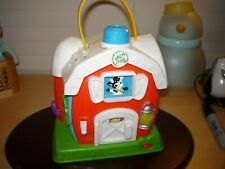 LeapFrog educational toddler/preschool/daycare battery operated farm house toy
