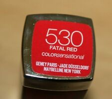 Maybelline Color Sensational Lipstick No 530 Fatal Red Great Xmas Colour