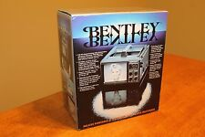 NEW in Box VINTAGE Bentley Portable TV Complete w/ Manual RARE COMMODITY