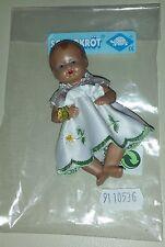 Schildkröt Puppe Strampelchen Gr. 10 - Blumenkind Glitzerstein - Gänseblümchen