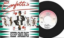 "Confetti's – Keep Smiling ( Re-Remix)    7"" Vinyl"