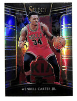 2018-19 Panini Select #65 Wendell Carter Jr Concourse SILVER rookie card Bulls