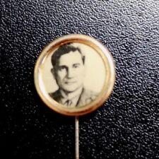 Russian Soviet Space Cosmonaut Photo Brooch Pin Badge